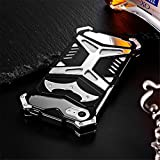 iPhone 7 Case , LWGON Cool Design Metal Bumper Case Full Body Armor Aluminum Alloy Metal Protective Cover Case for iPhone 7 (yue black)