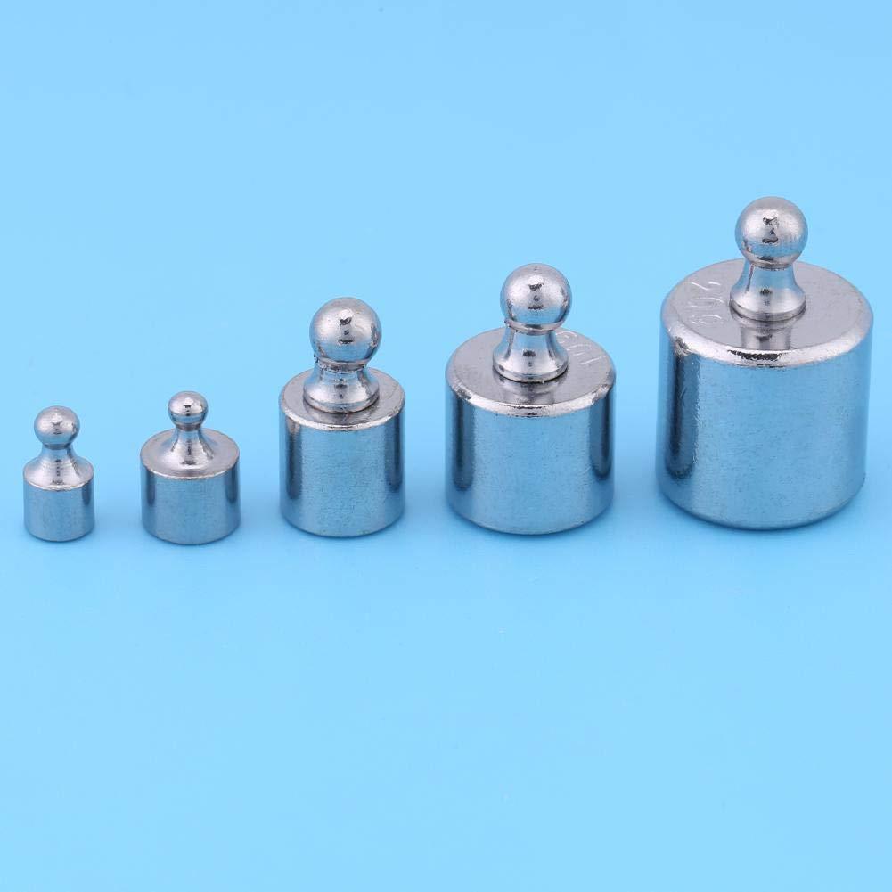 5g 20g 2g set di pesi di bilancia bilancia Set di pesi per bilancia di bilance digitali 10g Grammi Kit di pesi di calibrazione 1g