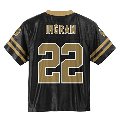 0adf9acd Amazon.com: Outerstuff Mark Ingram New Orleans Saints Black Toddler Player  Home Jersey: Clothing