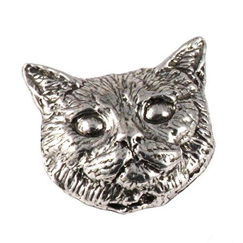 Shorthair Cat, Pewter Pin, C007