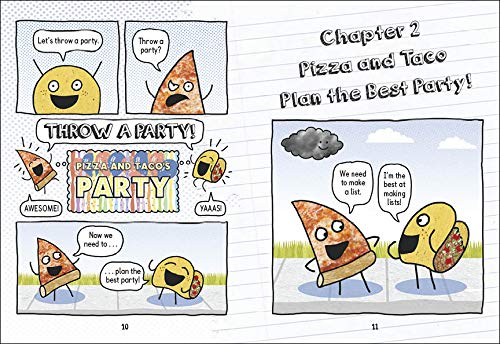 Pizza and Taco: Best Party Ever!: Shaskan, Stephen: 9780593123348:  Amazon.com: Books