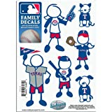 MLB Texas Rangers Small Family Decal Set