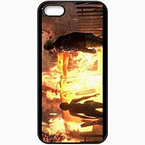Personalized iPhone 5 5S Cell phone Case/Cover Skin Resident Evil 6 Black