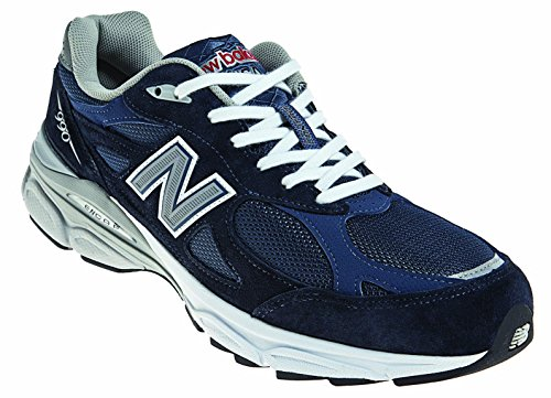 New Balance Men's M990NV3 Running Shoe,Navy,11 D US (Mens 990 Running Sneaker)