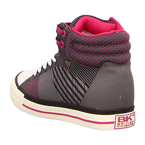 Knights British Women's Grey Dee Closed fuchsia grey dk drPqrwg