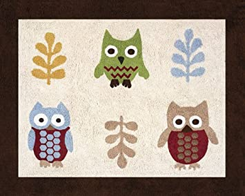 Night Owl Accent Floor Rug By Sweet Jojo Designs