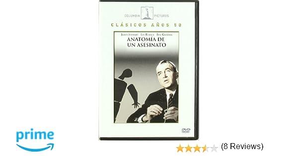 Anatomía De Un Asesino [DVD]: Amazon.es: James Stewart, Lee Remick ...