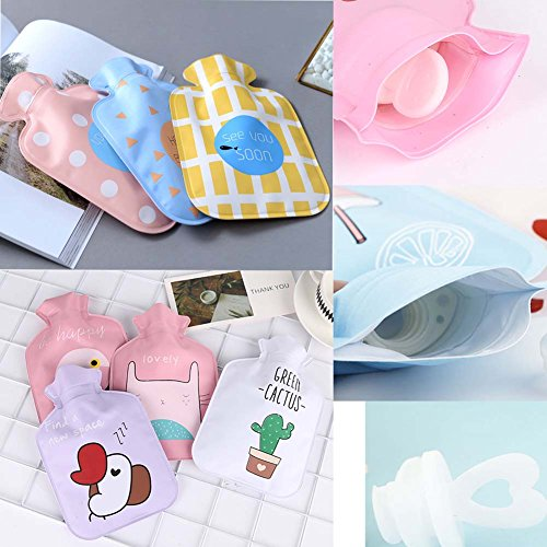 Mini-Wärmflaschen (Flamingo-Stil) Warmwasser-Beutel Wasser-warme Handtaschen, 100ML