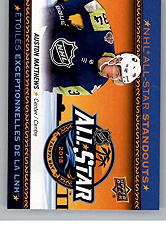 faa9a8f66 Amazon.com  2018-19 Upper Deck Tim Hortons NHL All-Star Standouts Hockey  Card  AS-3 Brock Boeser All-Star Team Official NHL Trading Card   Collectibles ...