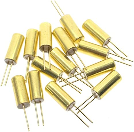 10Pcs SW-520D Metal Ball Tilt Shaking Position Switches 5.2*11.5 Gold Plated RDR
