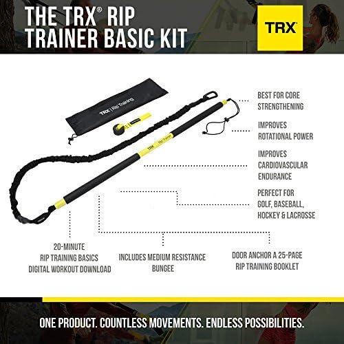 TRX Rip - Kit de Accesorios para Entrenamiento de suspensión