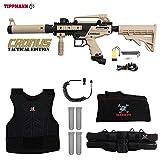 MAddog Tippmann Cronus Tactical Sergeant Paintball Gun Package – Black/Tan For Sale