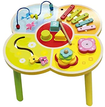 Beau Wooden Activity Table For Children