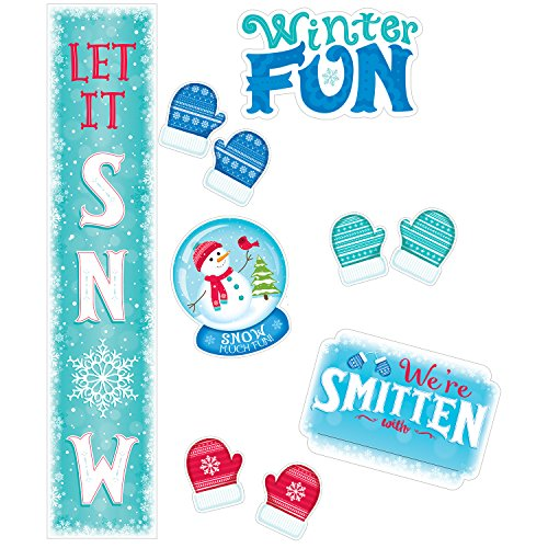 Creative Teaching Press Snow Much Fun Bulletin Board (7072) -