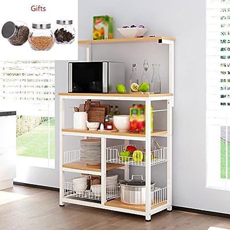 Mobili Da Cucina Acciaio.Kitchen Furniture Mobili Da Cucina Scaffale A 4 Strati