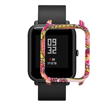 Protector para xiaomi huami amazfit bip Youth,❤️ riou Funda de protección para xiaomi huami amazfit bip smartwatch Reloj Fundas de Carcasa Elegante