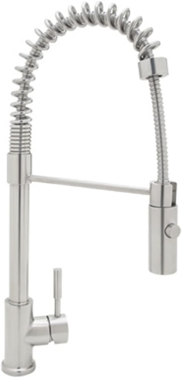 Rohl R7521SS Pull-Down FAUCETS, 3.50 x 23.50 x 7.75 inches, Stainless Steel