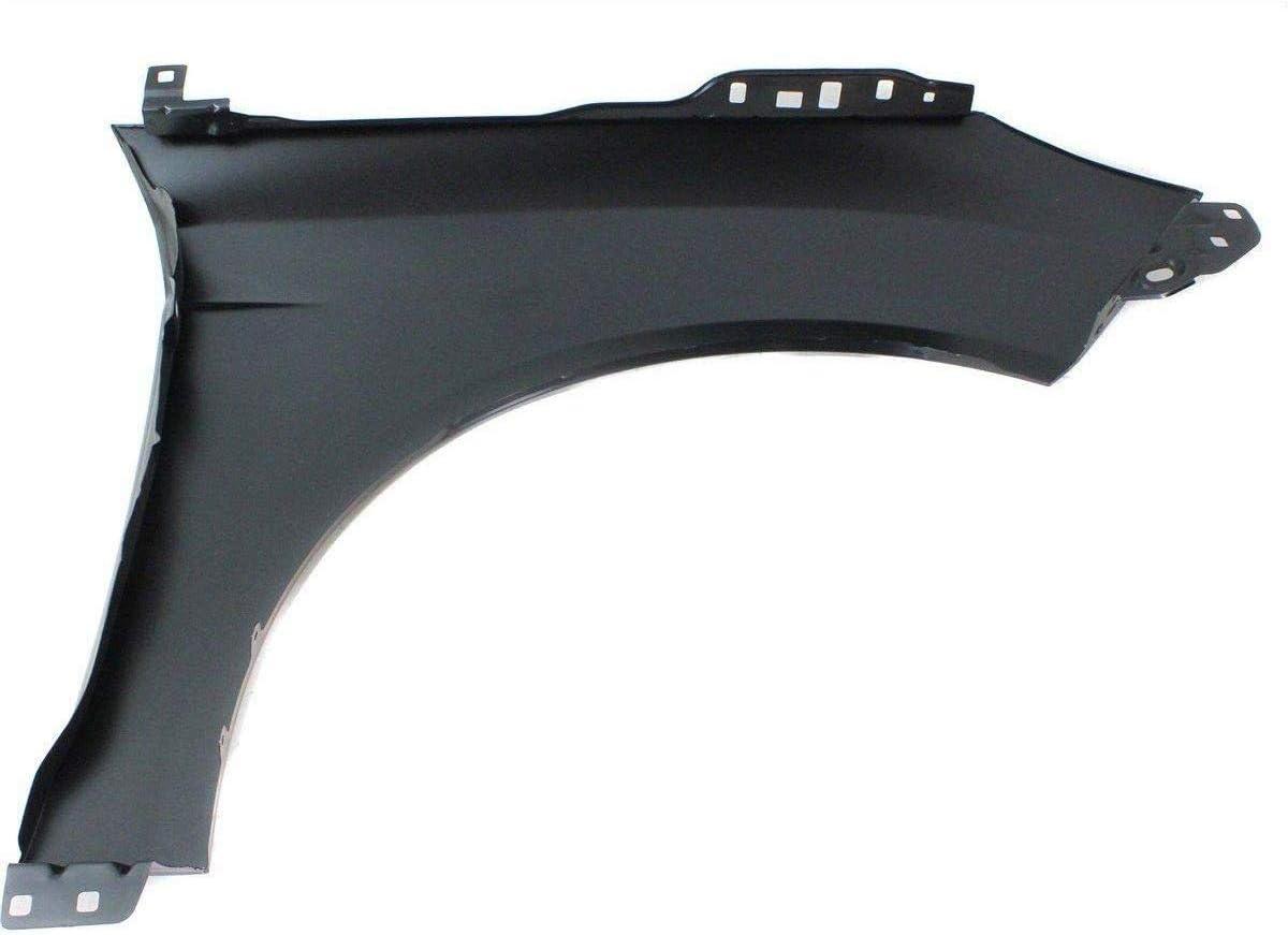 Titanium Plus Autoparts Fits For 2012-2018 Ford Focus Front Left Driver Side Fender FO1240287 Steel