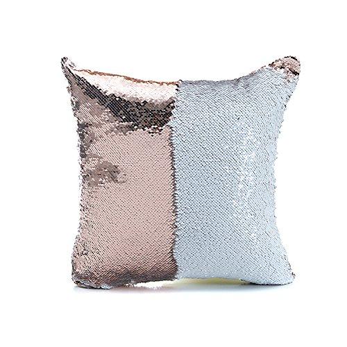 Monkeysell Decorative Reversible Sequins pillowcases