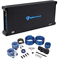 Rockville dB45 3200 Watt/1600w RMS 4 Channel Car Stereo Amplifier+Amp Kit Loud !