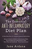 #4: Anti Inflammatory Diet: 10 Day Meal Plan To Complete Immune System Restoration - Restore Health & Reduce Inflammation With The Included Anti Inflammatory Diet Meal Plan and Cookbook - Treat Autoimmune