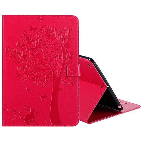 New iPad 9 7 Inch Case 2017,Akristal PU Leather Flip Folio S