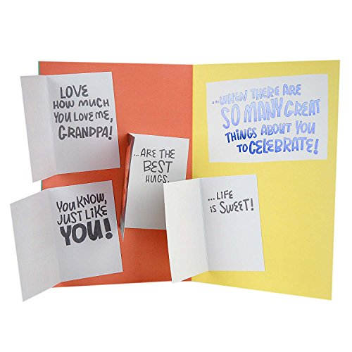 Hallmark Father's Day Greeting Card for Grandpa from Kid (Four Mini Cards Inside) Photo #5