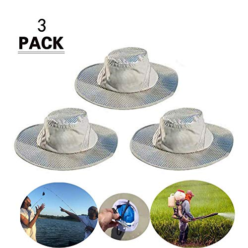 2019 New Arctic Hat Summer Cooling Hat Protection Cooling Cap Shapeable Wide Brim ()
