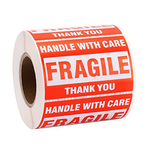 MFLABEL Rolls Fragile Tapes Stickers product image