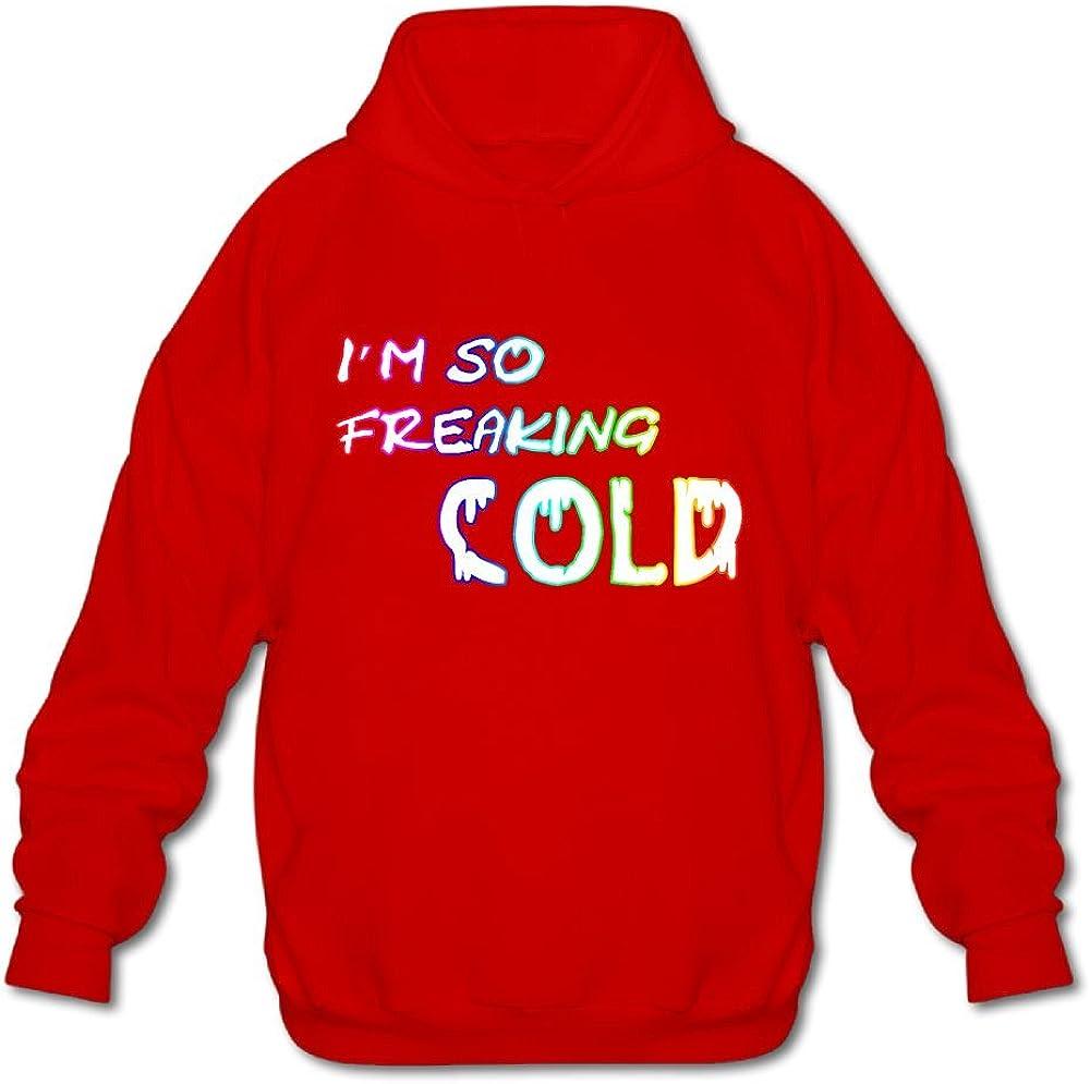 JIN YONG I/â/€m So Freaking Cold Men Long Sleeve Pullover Athletic Hoodies Hooded Sweatshirt