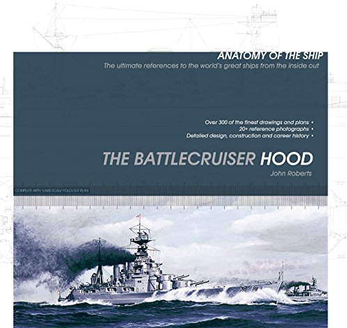 Download The Battlecruiser Hood (Anatomy of the Ship) book pdf