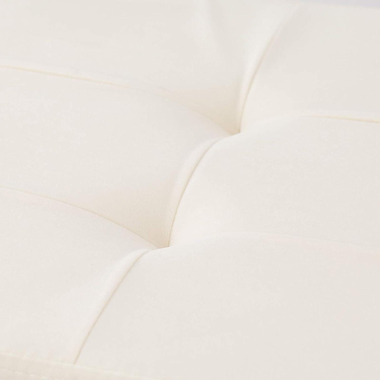 Bianco Antico Linea Oro Pouf Velluto