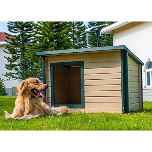 New Age Pet EcoFLEX Rustic Lodge Dog House