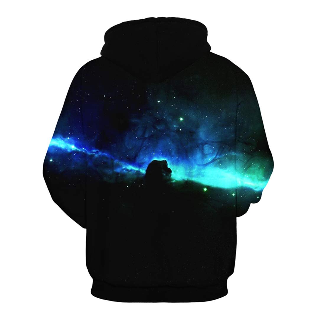 Amazon.com: Galaxy Space 3D Hoodies Men Women Casual Hoodie Pullover Men Harajuku Hiphop Tracksuit Male: Clothing