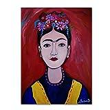 Trademark Fine Art Frida Adolescente by
