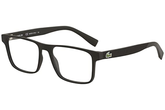 7570e689be2 Image Unavailable. Image not available for. Color  Eyeglasses LACOSTE L  2817 004 MATTE BLACK
