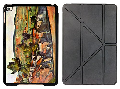 Rikki Knight Paul Cezzane Art Mountains in Provence Design Smart Case for The Apple iPad Mini 4 ONLY ()