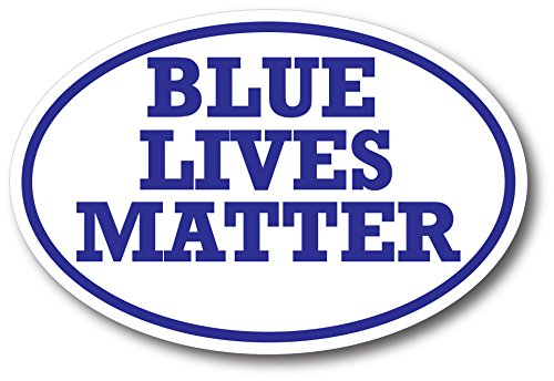 Blue Lives Matter Magnet Decal Support Law Enforcement - Heavy Duty for Car Truck SUV