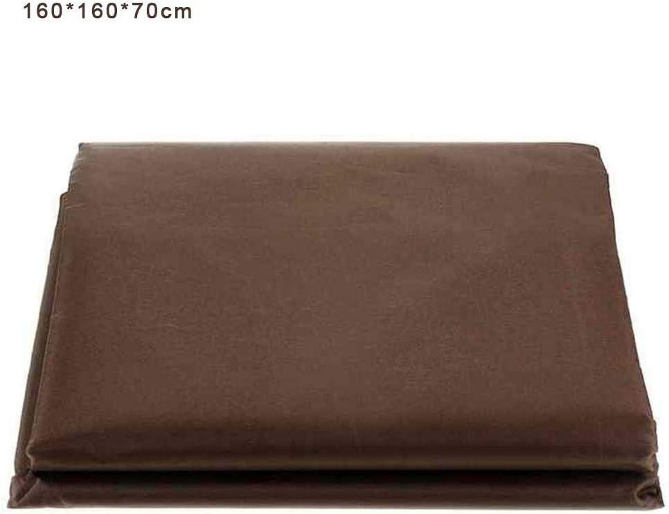 coperture da Tavolo Anti-UV rettangolari Antivento rettangolari in Tessuto 210D Oxford 115 115 70 cm coperture per mobili da Giardino Impermeabili ZQYX Coperture per mobili da Giardino