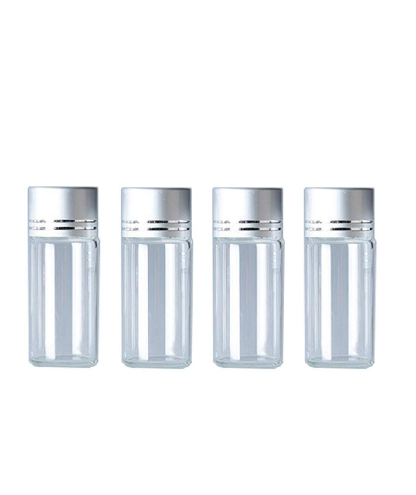 Amazon.com: 10Pcs Clear Glass Sealed Bottles Empty Cosmetic ...
