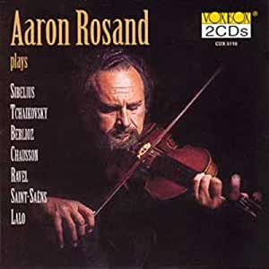 AARON ROSAND - ROMANTIC VIOLIN CONCERTOS