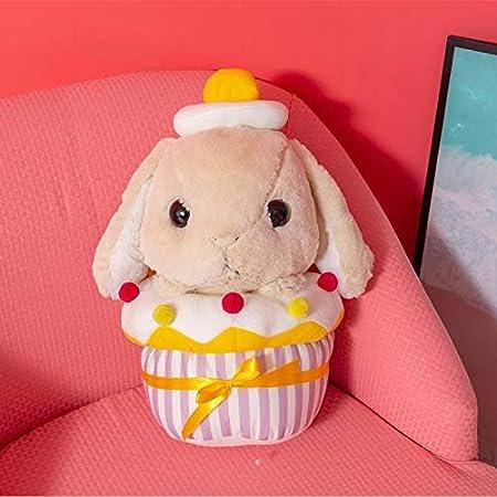 GOOGEE conejo de peluche animal - conejo pastel clásico suave ...