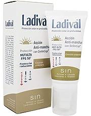 Ladival Emulsion Protectora SPF50+ con Accion Antimanchas 50ml