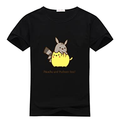 Amazon.com: Pusheen The Cat Kids Boys' and Girls' Cool Logo ...