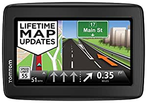 TomTom VIA 1515M 5-Inch Portable Touchscreen Car GPS Navigation Device - Lifetime Map Updates