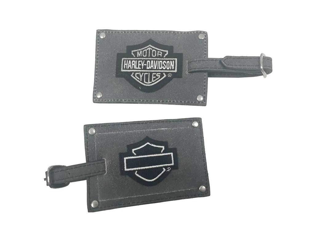 Harley-Davidson Kofferanh/änger Set Grau