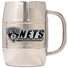 NBA Dbl Wall SS Barrel Mug 32 oz
