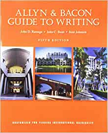 Allyn & Bacon Guide to Writing, The [RENTAL EDITION], 8th edition