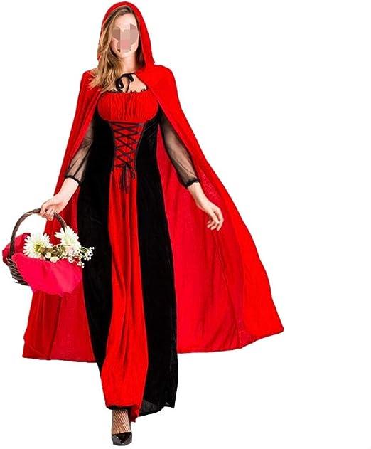PengShi Disfraz de Mujer Castle Queen Pack Halloween Vampire ...