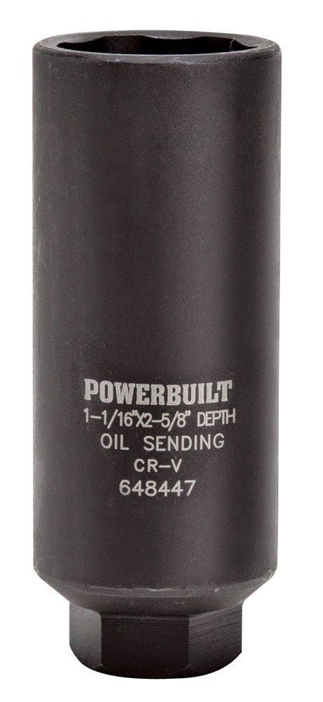 Powerbuilt 648447 3/8'' Oil Pressure Sending Socket